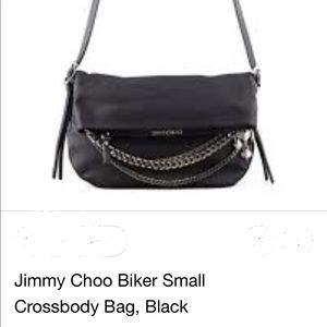 Jimmy Choo Biker messenger bag